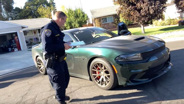 Hellcat Gets Impounded After YouTube Viewers Snitch