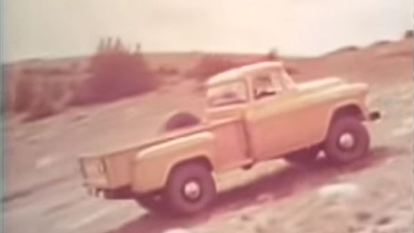 Watch Old Chevy Pickups Climb Pikes Peak