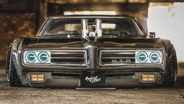 Artist Turns Pontiac GTO Judge Into A Lowrider