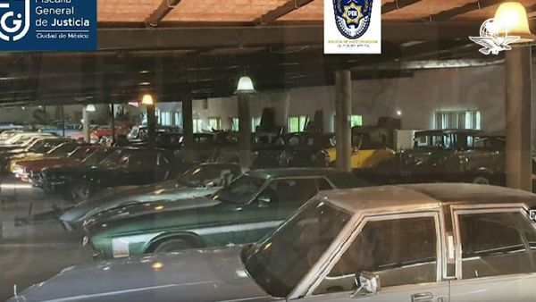 Mexican Official's Massive Classic Car Collection Seized