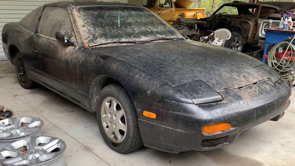 Guy Buys Barn Find Nissan 240SX Out Of Boredom