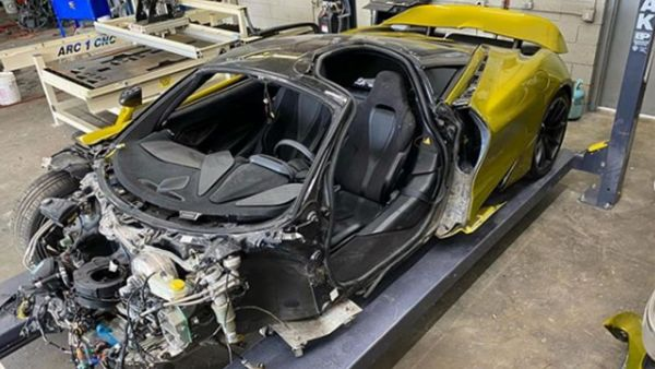 Guy Buys A Wrecked McLaren 720S