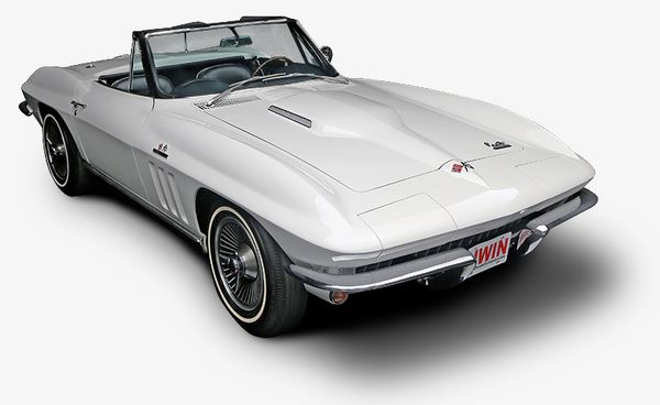 You Could Win This Big Block Corvette