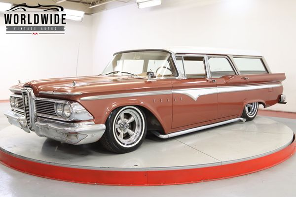 Don't Believe the Hype: 1959 Edsel Villager Station Wagon