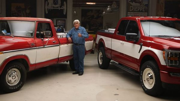 Jay Leno Builds a New F-150 for Wal-Mart Founder