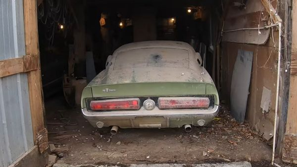 Barn Find 1967 Shelby GT500 Restoration Isn't Cheap