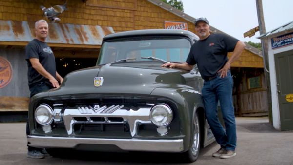 Restomod 1956 Ford F100 Is A Ringbrothers Masterpiece