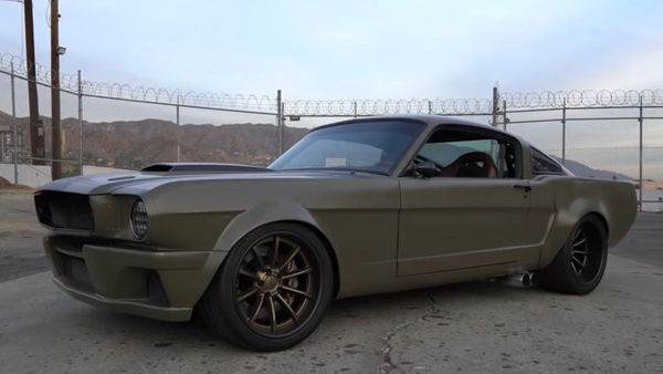 Check Out This Flared 1966 Mustang Fastback