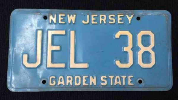 New Jersey To Introduce Vintage-Style License Plates