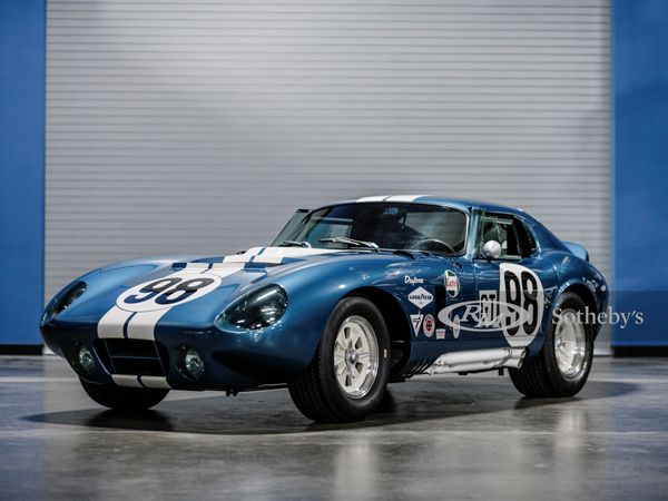 Continuation Cobra Daytona Coupe is the Real Deal