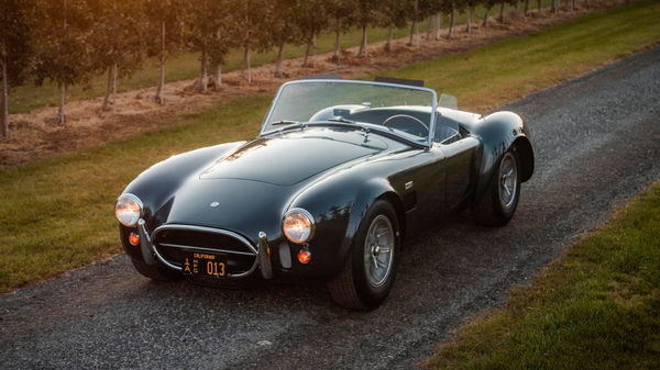 Mecum Sells Shelby's Personal 1965 Shelby 427 Cobra For $5.94 Million