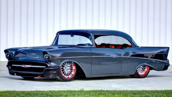 1957 Chevy Bel Air Pro Touring Pushes Big Power