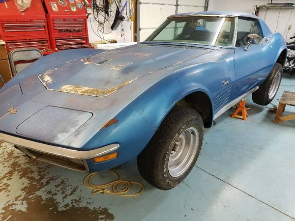 Cragislist Find: 1971 Corvette 'Yard Find' Sat Outside for 43 Years