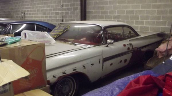 Craigslist Find: 1959 Chevy Impala 2-Door Hardtop