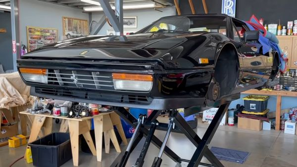 Matt Farah's Ferrari 328 GTS Goes In For Serious Repairs