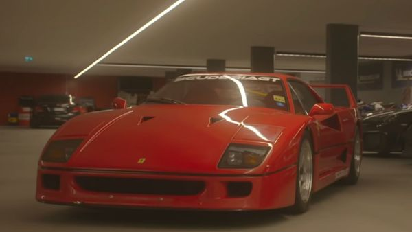 Listen To This Ferrari F40 With Straight Pipes
