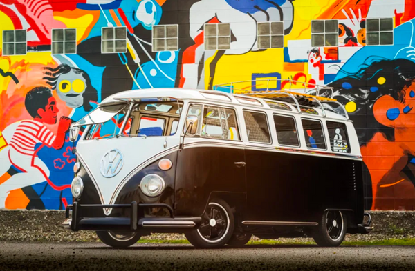 Take A Trip Back To 1965 With This Volkswagen Type 2 21-Window Deluxe Samba