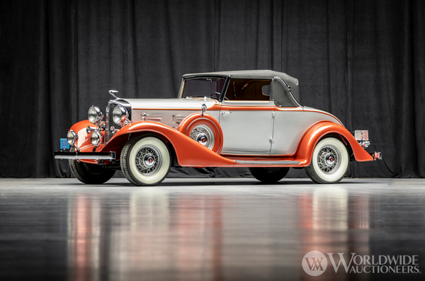 Meticulously Restored 1933 LaSalle 345-C Convertible Coupe Commands Attention
