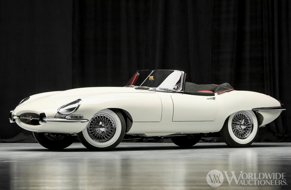 1965 Jaguar E-Type Series I OTS Up For Grabs