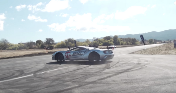 Ford GT Carbon Edition Vs 1,400HP AWD Mustang