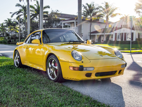 Rare Porsche 993 Turbo With An Interesting History