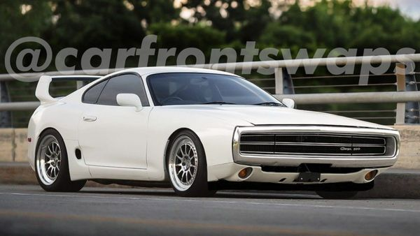 Toyota Supra Dodge Charger Hybrid Is A Nightmare