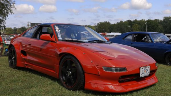 Toyota MR2 With An LS Swap Sure Is Quick