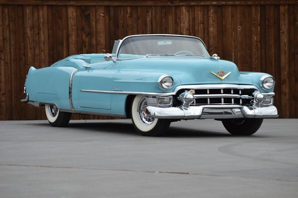 One of 532: 1953 Cadillac Eldorado