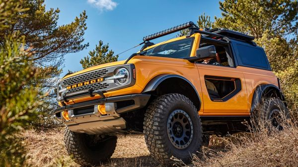 Ford Bronco Pioneers New High-Strength Steel