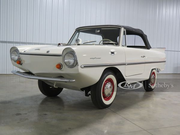 1964 Amphicar 770: The Most Successful Civilian Amphibious Car