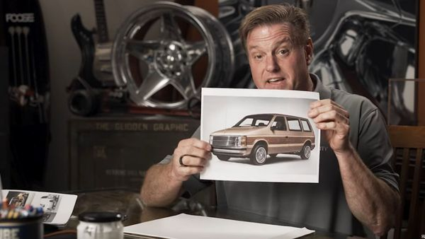 Chip Foose Off-Roads A Dodge Caravan
