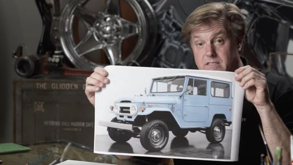 Chip Foose Takes On The Toyota FJ40