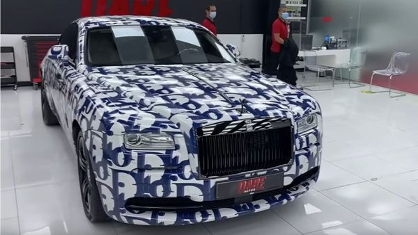 Rolls-Royce With Dior Wrap is Expensive And Tacky