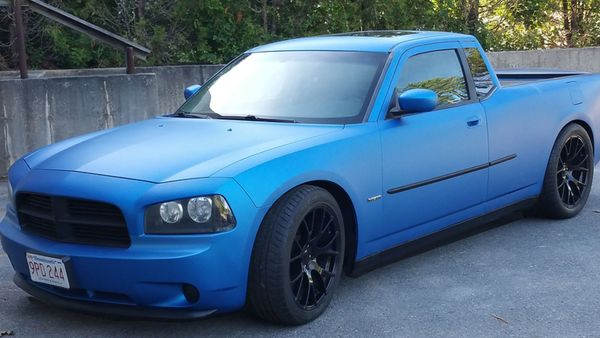 Dodge Charger Pickups Are Amazing