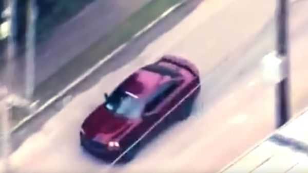 Dodge Charger Police Chase Ends In Epic Fashion