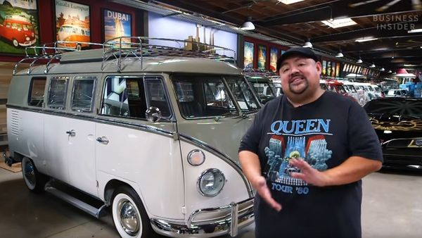 Gabriel Iglesias Owns A Huge Volkswagen Type 2 Collection