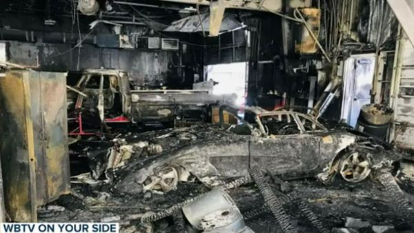 Nine Collector Cars Destroyed In Auto Shop Fire
