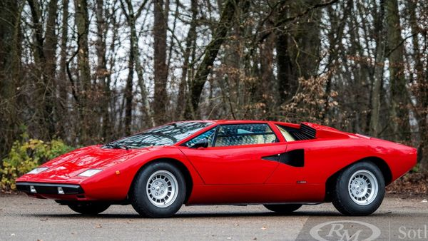 Rod Stewart's Lamborghini Countach Auctions For Record Amount