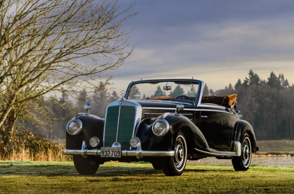 An Elegant Survivor: 1959 Mercedes-Benz 220A Cabriolet
