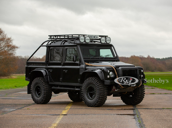 Bond Villain Land Rover Being Offered At No Reserve