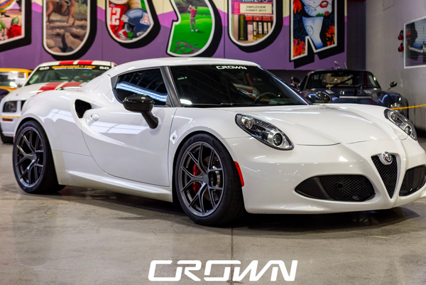 Low Mileage Modified Alfa Romeo 4C Perfect For The Track Or Road