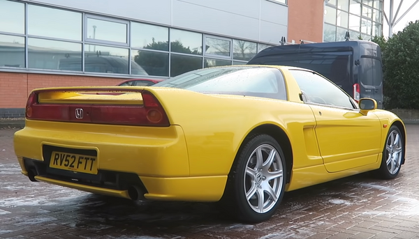 Jenson Button's Former NSX Has Crazy High Mileage