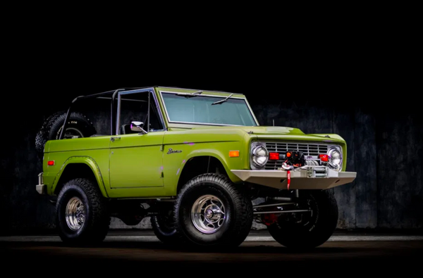 1973 Ford Bronco Off-Road Beast With A Classic Style