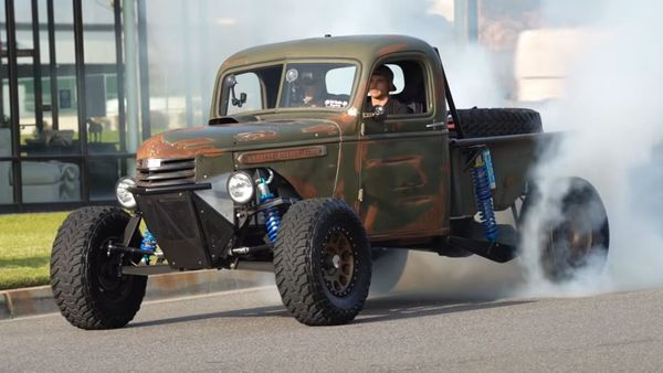 This Custom Supercharged GMC Truck Is Sick