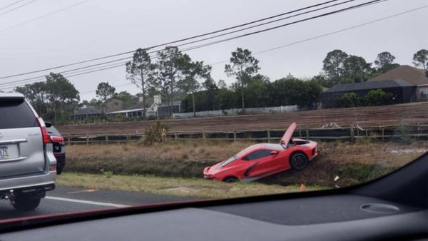 Florida Man Ditches C8 Corvette