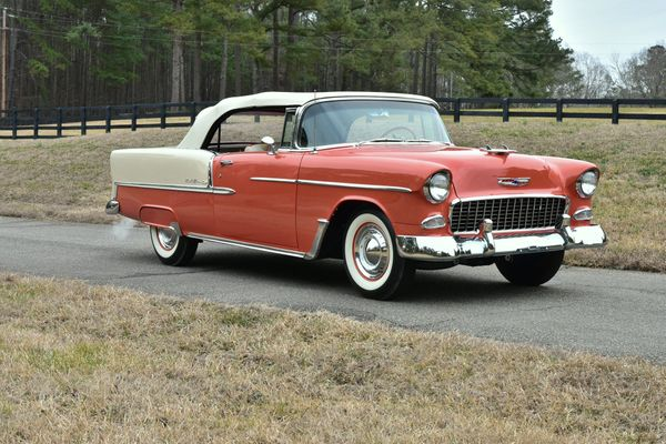 1955 Chevy Bel Air Just As It Was Intended To Be