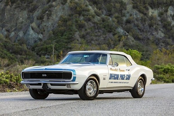 Fully Restored And Certified 1967 Camaro Pace Car For Sale