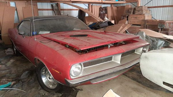 440 Equipped 1970 Cuda Sat For 16 Years