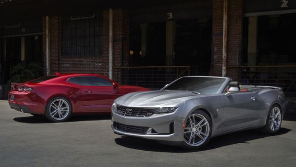 Chevy Camaro Beats The Competition