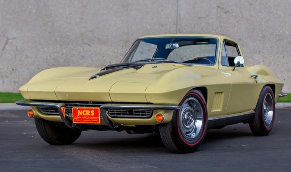 This 1967 Sunfire Yellow L88 Corvette Is A Collector's Dream